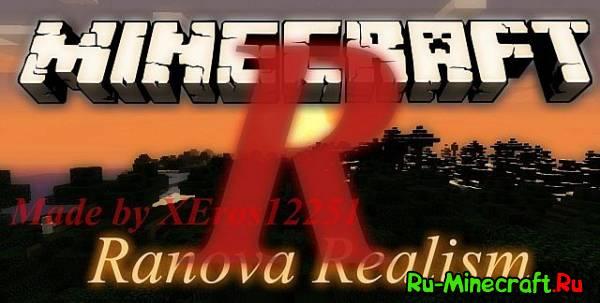[1.7.8][32x]RanovaRealism — Реалистичный ресурс-пак!