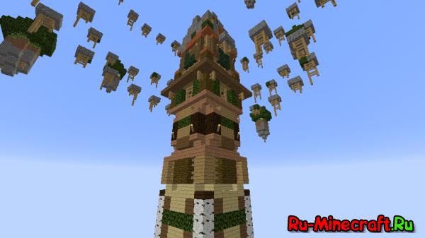 [Map] Stick Tower — Паркур-башня