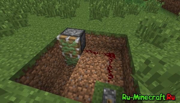 [Guide] Читерский баг в Minecraft - смотрим сквозь землю