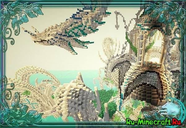 [Map] Dragon spawn — Красивый спавн!
