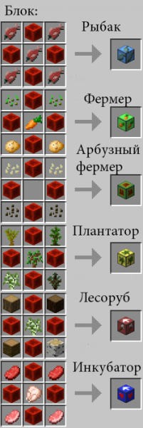 [1.7.2] Little Helpers Mod - Блоки для ленивых!
