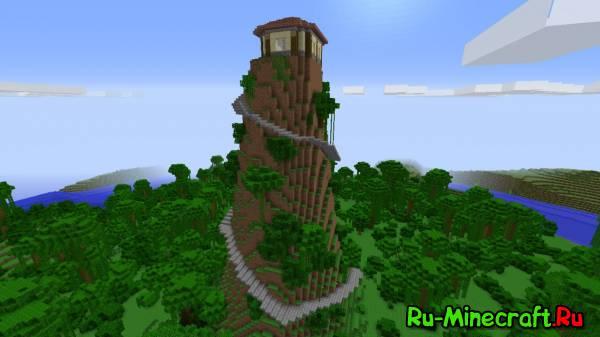 [Map] Jungle Mountain House - Уютный домик на вершине