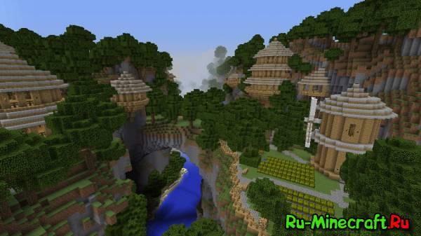 [Map] Mountain sky village - Прекрасная деревенька!