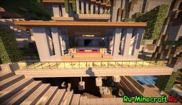 [Map] The Cliffhanger — Дом в горе
