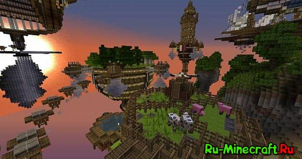 [Map] Ascended City — Ещё один воздушный город