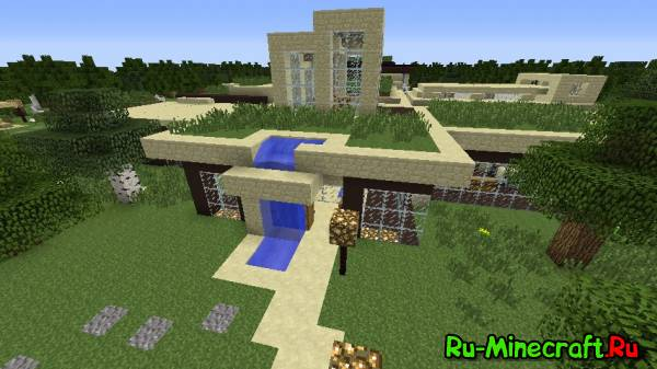 [Map] Modern Mansion - Большой модерн Дворец??