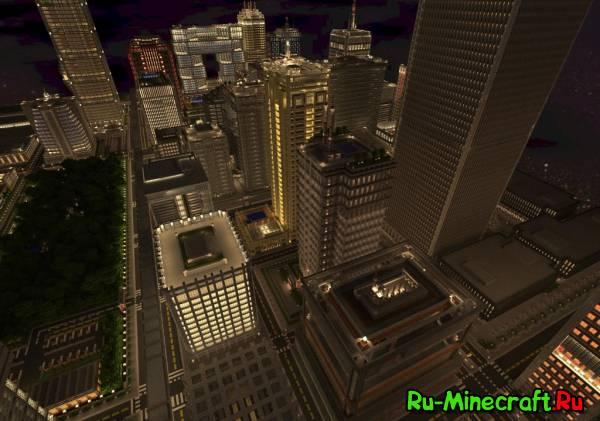 Titan City by FoxGaming карта мегагород [Map][1.7+]