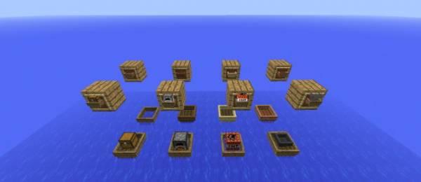 [1.7.2] BoatCraft - лодки не нужны?