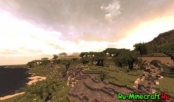 [Map] Buluran — Африканский ландшафт
