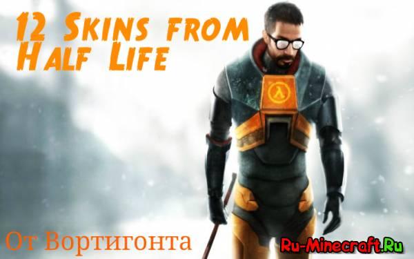 [Skins] 12 скинов из вселенной Half-Life
