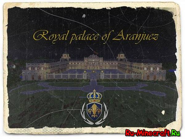 [Map] Royal Palace of Aranjuez — Красивое здание