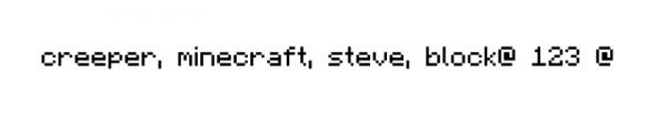 Шрифты из minecraft, шрифты в стиле майнкрафт [Разное]