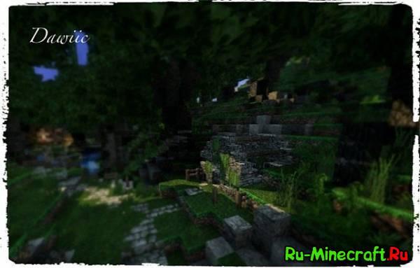[Map] Green Forest — Зелёный лес