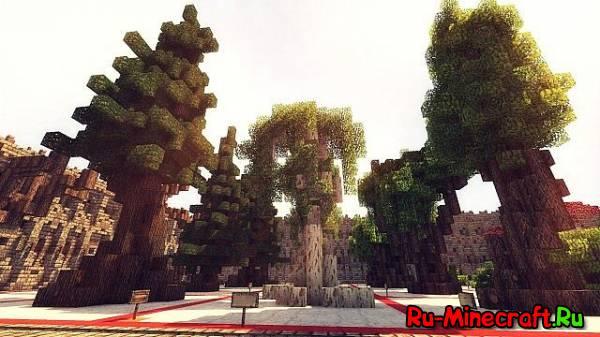 [Map][1.7.9] Tree Bundle - Виды деревьев !