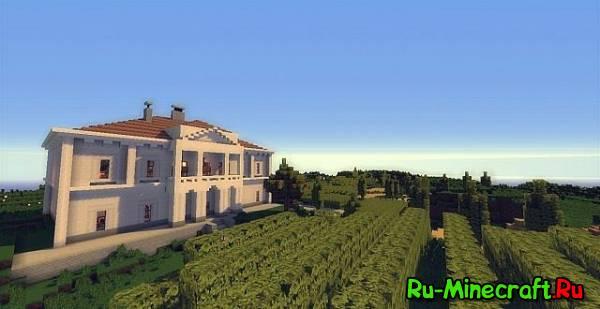 [Map] Traditional Hungarian Mansion - красивый особнячок