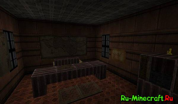 [1.7.4][512x]Amnesia:A Cubed Descent — Амнезия в Minecraft!