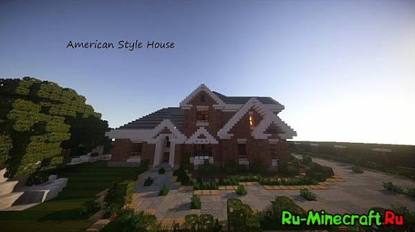 [Map] Amerecan house - Домик из США