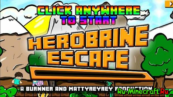 [Android] Herobrine Escape - хирабрин аааа!