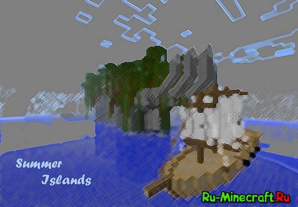 [Map]Summer Islands - карта для голодных игр
