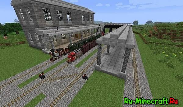 скачать карту вокзал для майнкрафт - фото 5