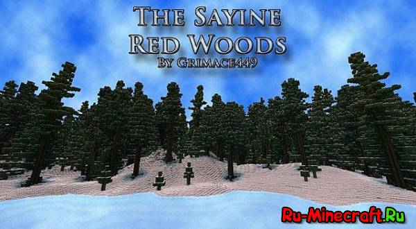 [Map]The Sayine Red Woods - остров