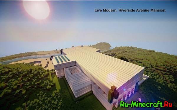 [Map] Riverside Avenue — Современный дом