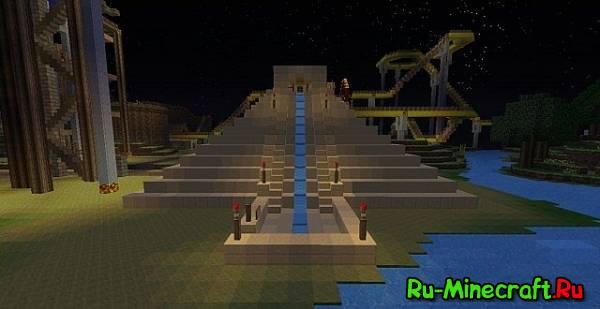[Map] Theme park - парк горок