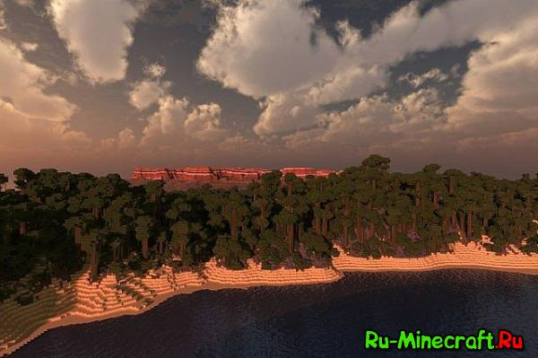 [Map][Realistic terrain] Tropical landscape - тропики