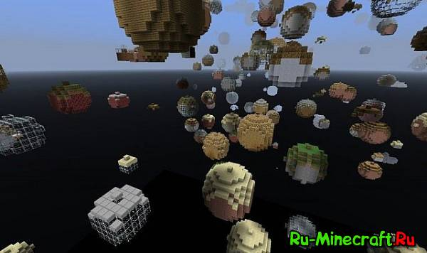 [Map]Planets of Minecraft - упорт