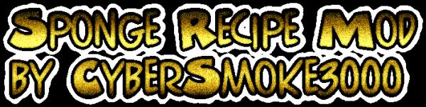 [1.7.2] Sponge Recipe - губка