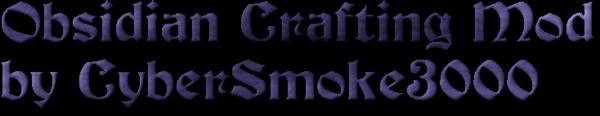 [1.7.2] Obsidian Crafting - крафтим обсидиан