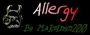 [Guide] Аллергия. (For 1.8+)
