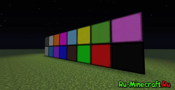 [1.6.4] Stone Lamps - мод на разноцветные лампы