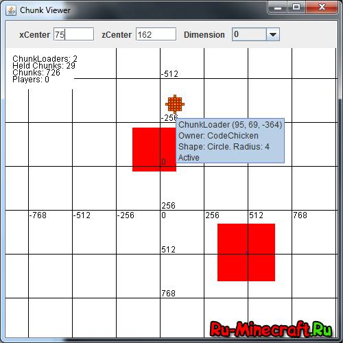 ChickenChunks [1.16.5] [1.15.2] [1.12.2] [1.11.2] [1.10.2] [1.9.4] [1.7.10]