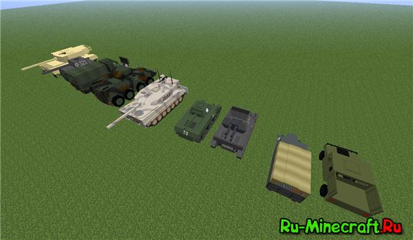 Мод на танки для майнкрафт 1.7.10