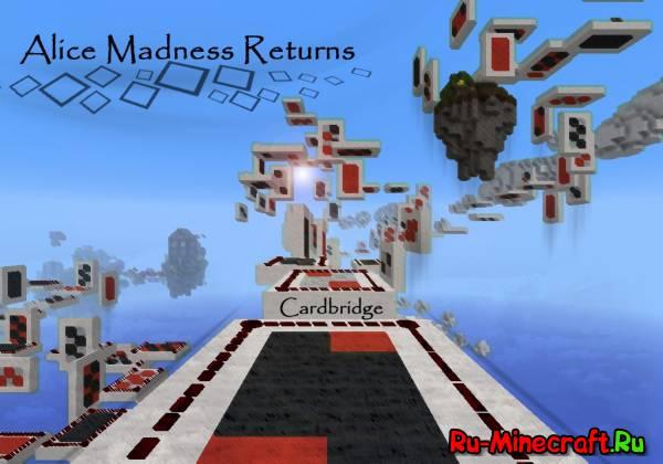 [Map][1.5.2] Alice: Madness Returns - карта для minecraft