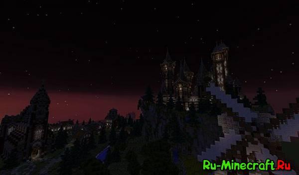 [Карта] Средневековый замок и Королевство