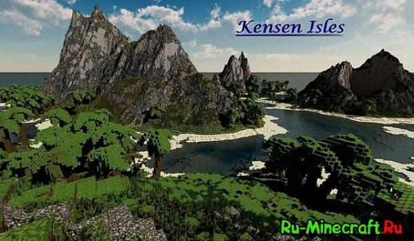 [Map] Kensen Isles — Тропические острова