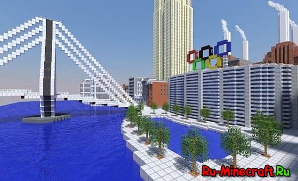 [Map] BaronThamesBank - красивый городк