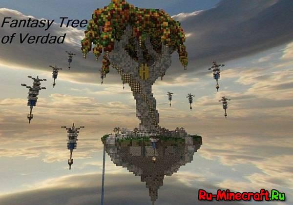 [Map]Fantasy Tree of Verdad - красивое деревце