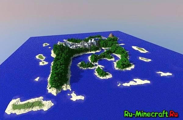 [Map] Aero Island — Красивый остров