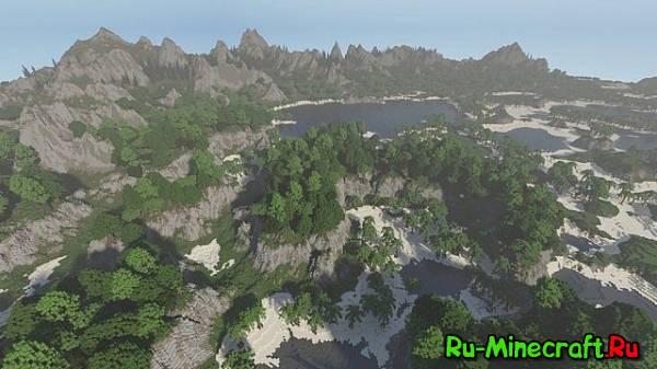 [Map] Realism map - красивая карта для выживания