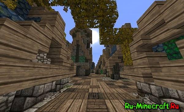 [Map] Fantasy Port Town — Красивый порт