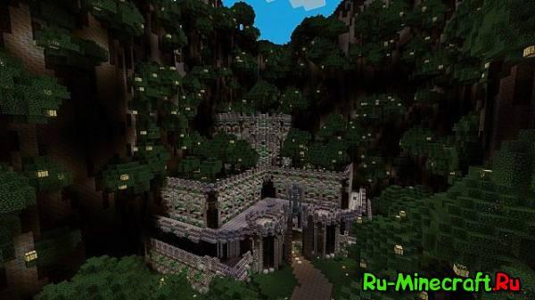 [Map]Castle Valley - краасивый замочек