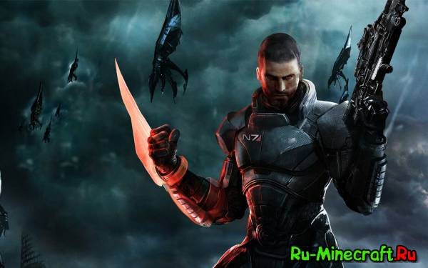 [Skins] Сборка скинов Mass Effect 3