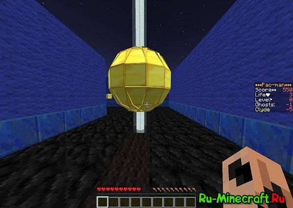 [Карта][1.8+] Pac-Man - Теперь и в Minecraft!