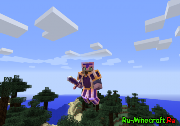 [1.5.21.6.41.7.2] [RPG] ReptileCraft - рпг клиент с модами Minecraft