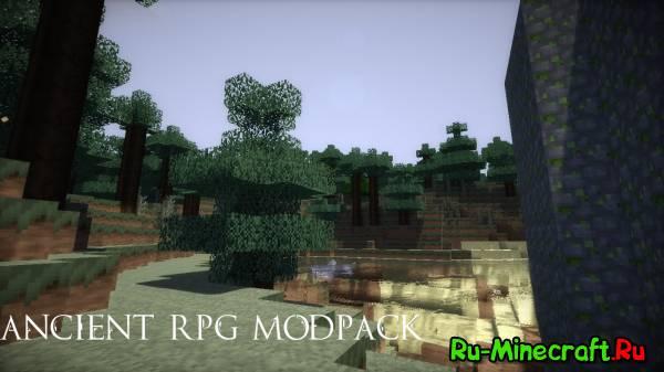 [Client][1.7.2] Ancient RPG Modpack v7.3 - Мир RPG !