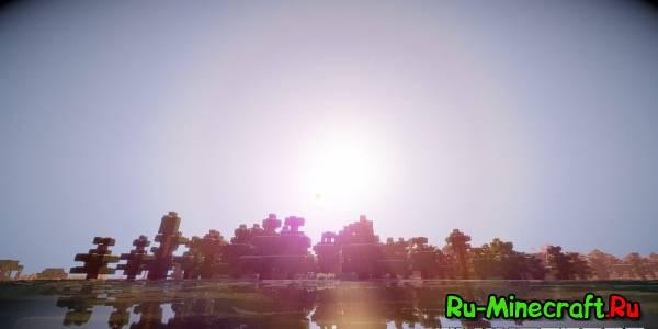 Blue Shaders шейдеры для Minecraft