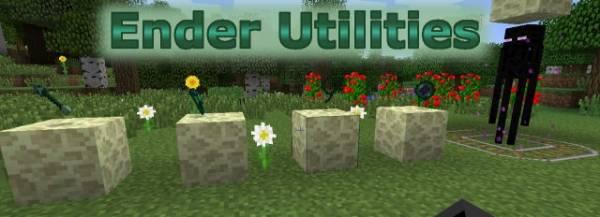 Ender Utilities Mod - экипировка Эндермена!